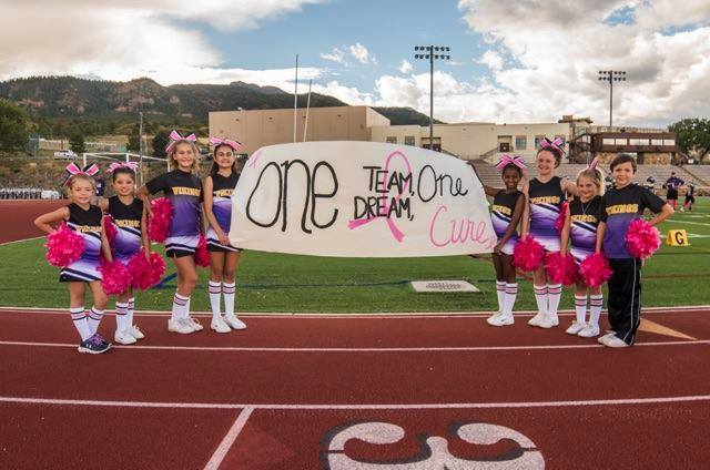 Cheer Group pink